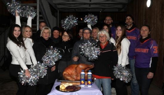 Gelungenes Thanksgiving Essen im Ostpark